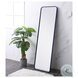 MR801860BL Evermore Blue Rectangle Vanity Mirror