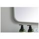 MR803040WH Evermore White Rectangle Vanity Mirror