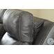 Edmar Charcoal Power Recliner With Adjustable Headrest