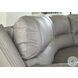 Dunleith Gray Zero Wall Recliner With Power Headrest