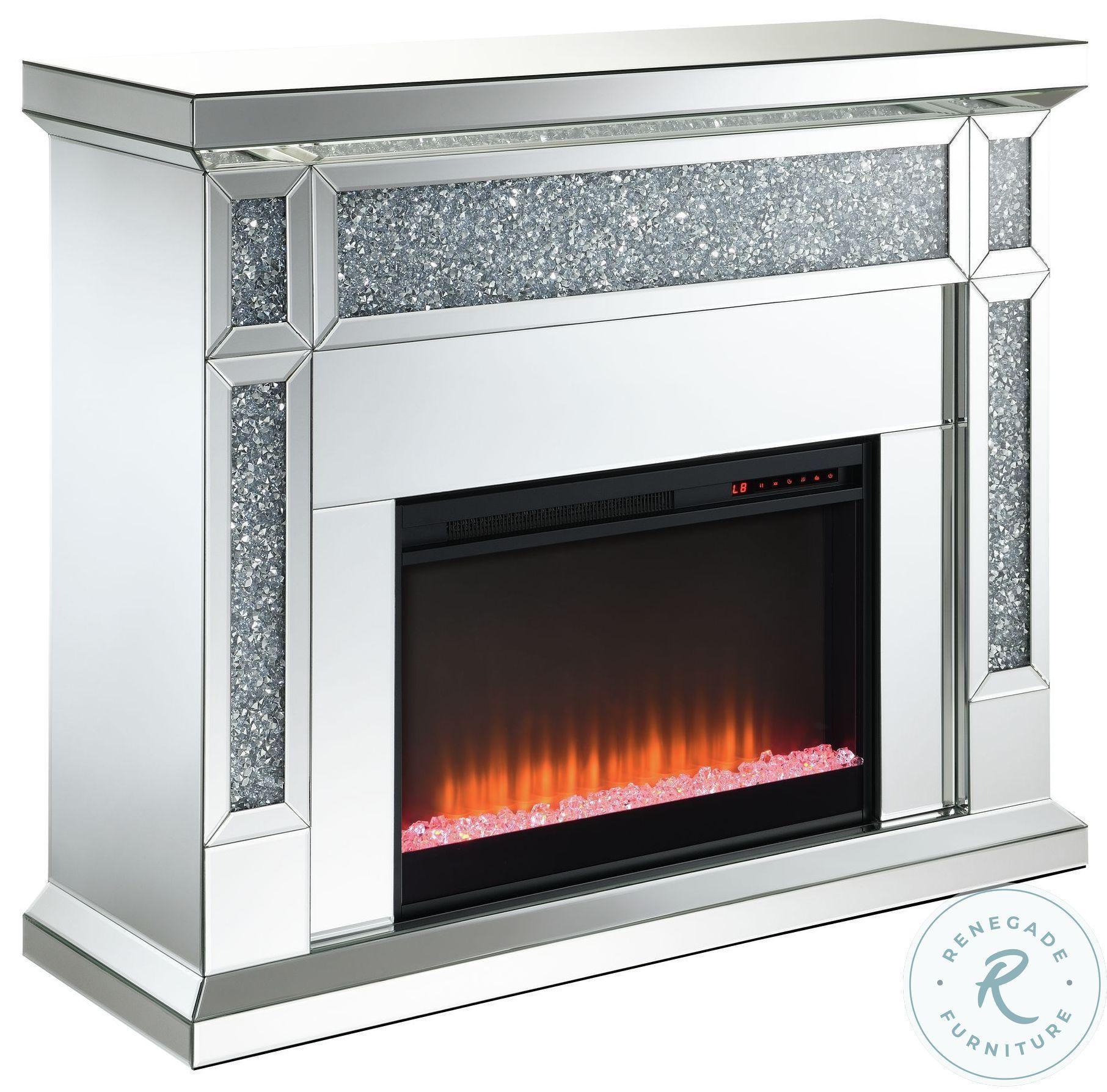 Eleanor Silver Fireplace