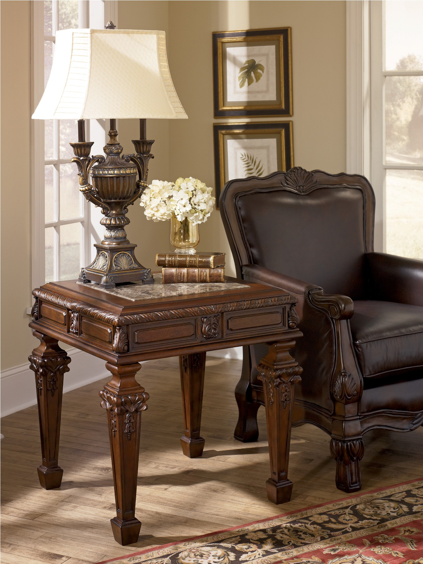 Furniture > Living Room Furniture > End Table > Old World End Table